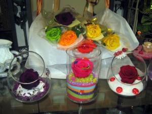 Agencement de Roses Éternelles